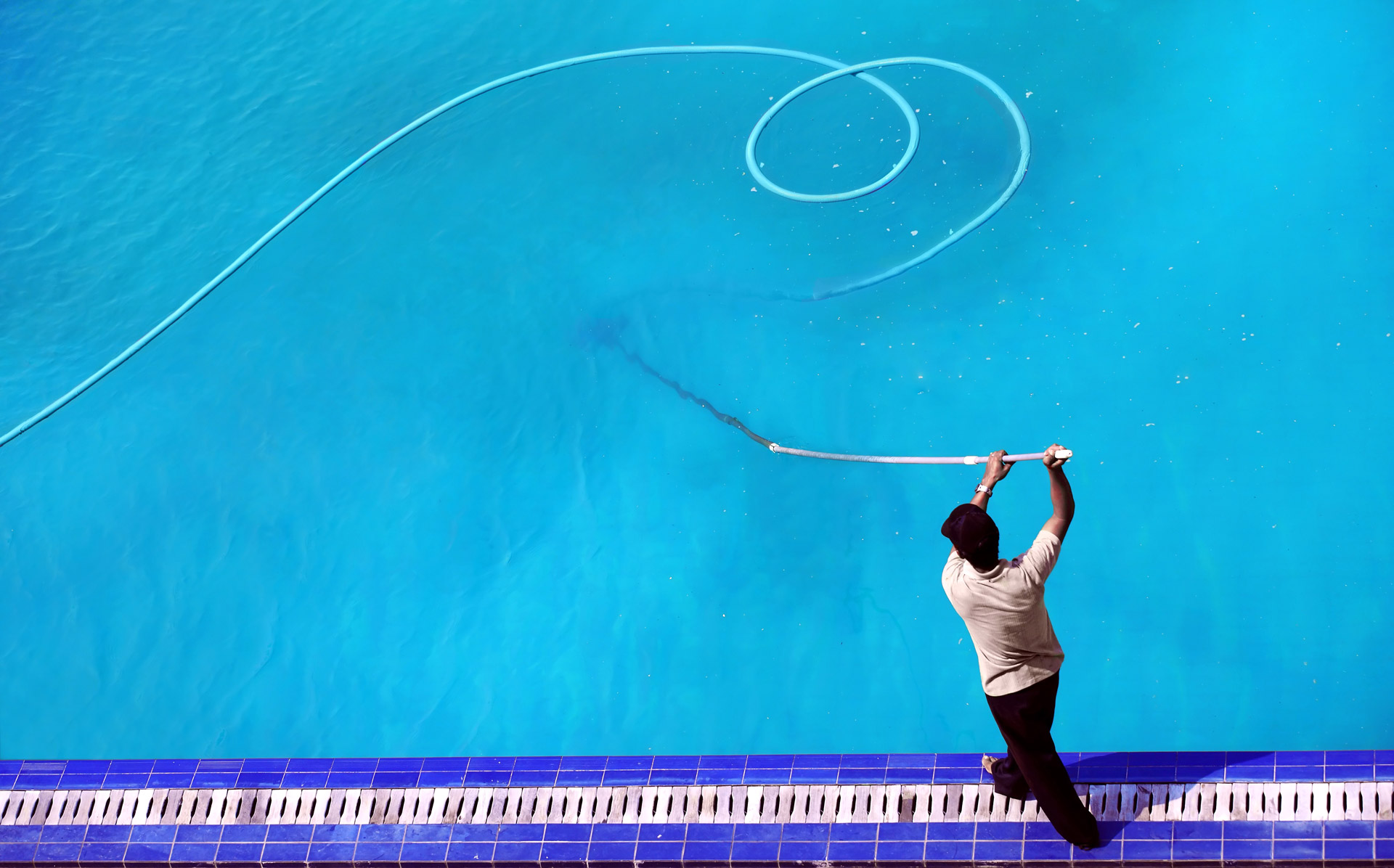 Pool Cleaning And Maintenance $25 off - 1st months pool cleaning service! - olympic swimming